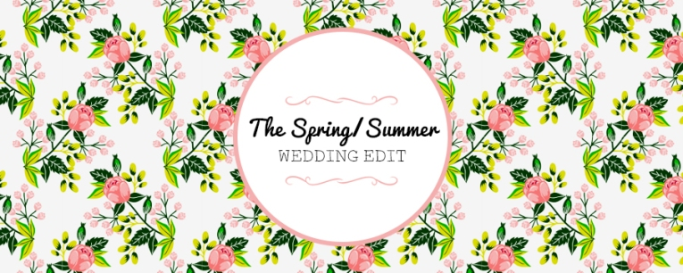 Spring Wedding Edit Banner