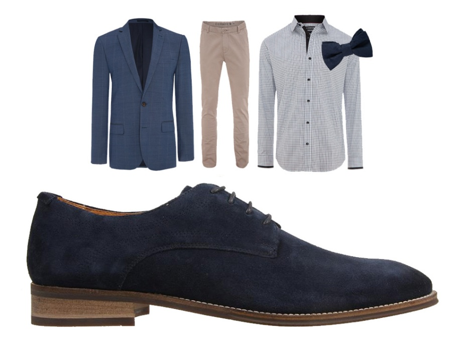 Smart Casual - Rangoon Navy Suede
