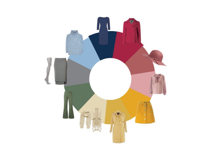 Autumn 2016 Colour Chart - Key Pieces